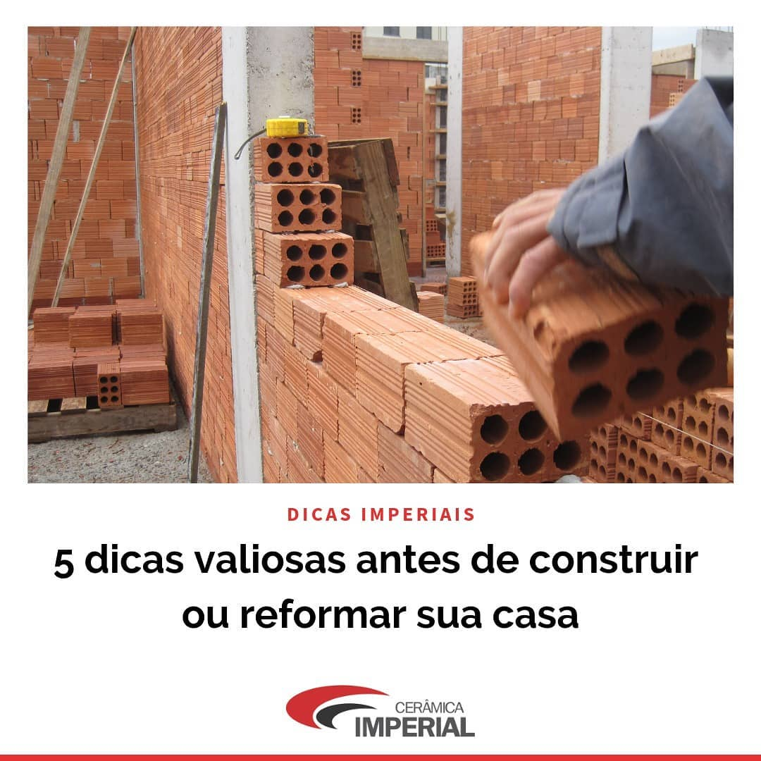Read more about the article 5 Dicas Valiosas antes de Construir ou Reformar a sua Casa